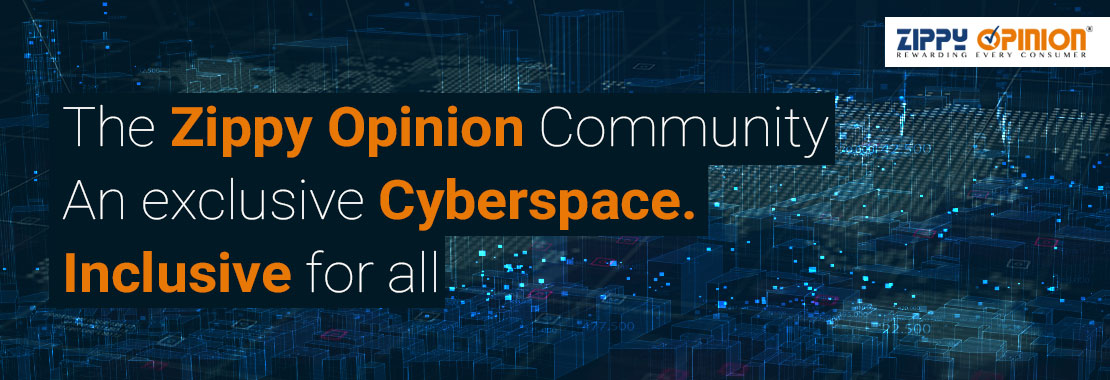 The Zippy Opinion Community. An exclusive cyberspace. Inclusive of all.