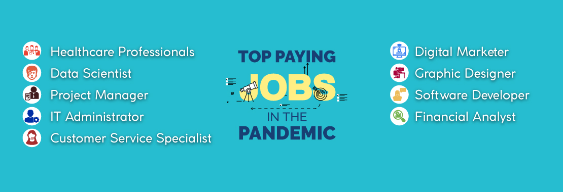 Top paying jobs in the pandemic