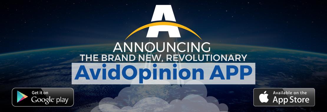 Announcing the AvidOpinion App