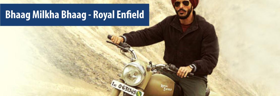Bhaag Milkha Bhaag, Royal Enfield