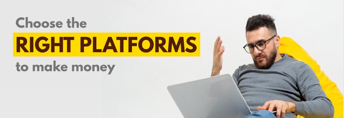 Legitimate platforms to earn money, legit online earning